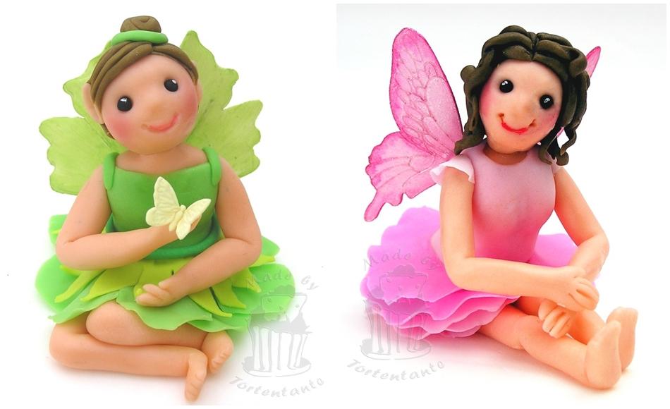 Figuren aus Modellierfondant Feen Fairy gumpaste