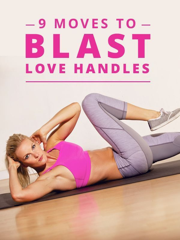 9 Moves to Blast Love Handles