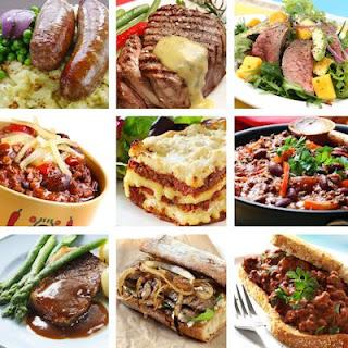 9 fotos de comida de res en platillos preparados