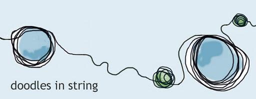 doodles in string