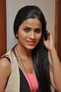 Prashanthi at affair press meet 010.jpg