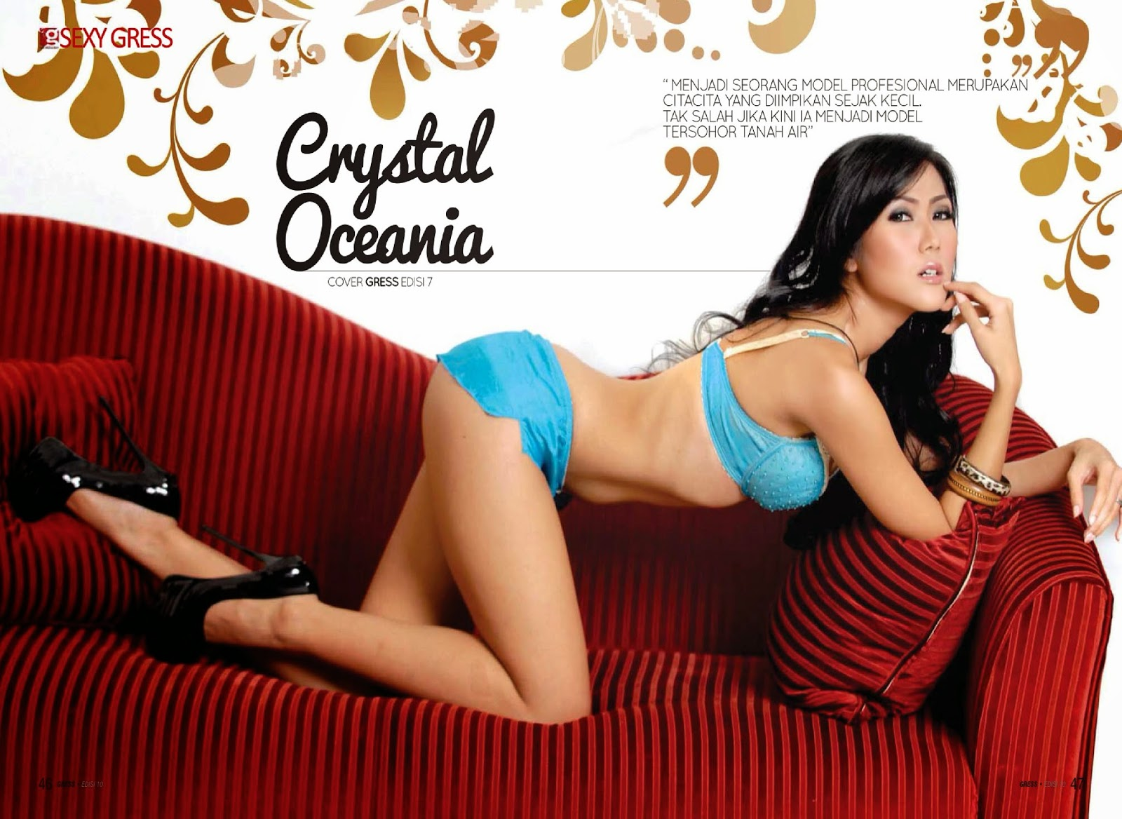 Hot Pictures Crystal Oceania On Gress Magazine
