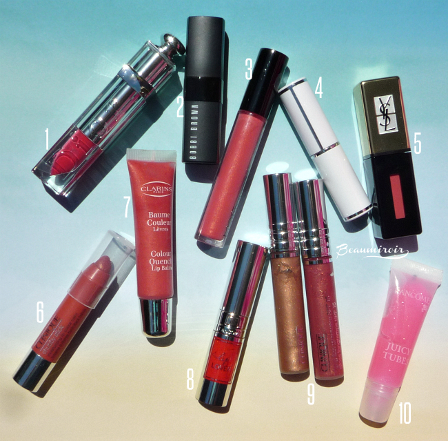 My 10 favorite lip colors for summer - 10 best high-end lipsticks and lipglosses
