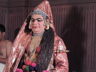 Kathakali Female Artist