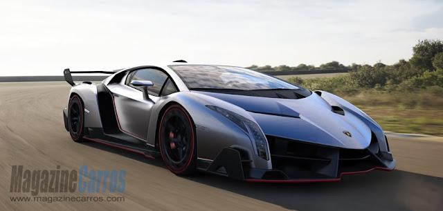 Frente do Lamborghini Veneno 2014