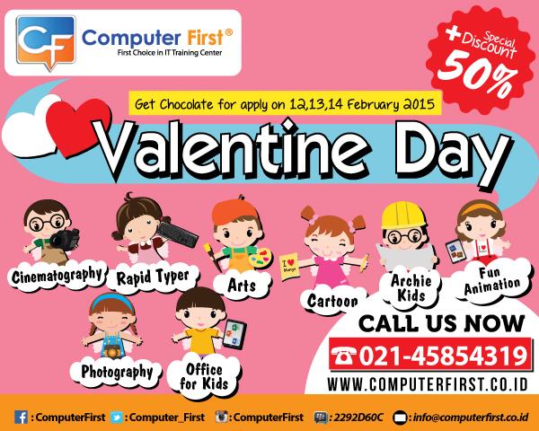 promo kursus komputer di computer first bulan februari 2015