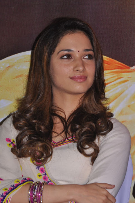 tamanna at yen endral kadhal enben movie press meet cute stills