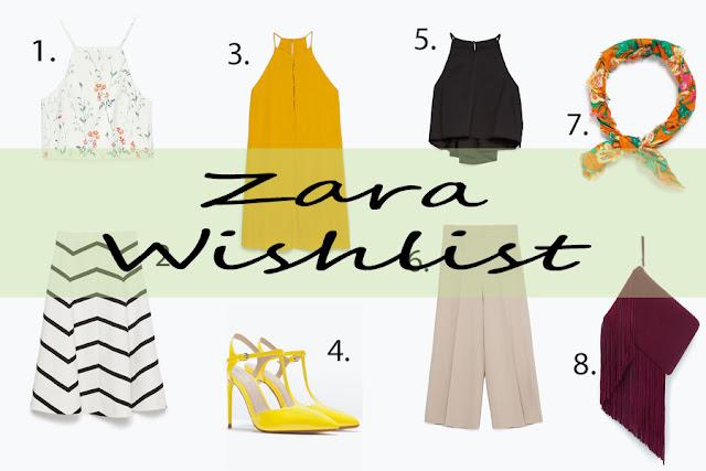 Zara Wishlist