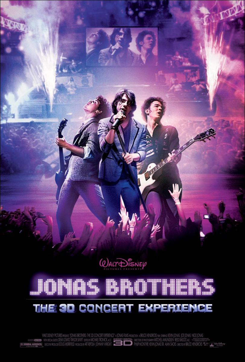 Jonas Brothers: The 3D Concert Experience (2009) Online Latino