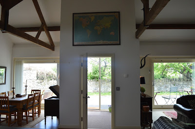 Waterside view cottage lounge, Alnmouth, North East Family Fun Review