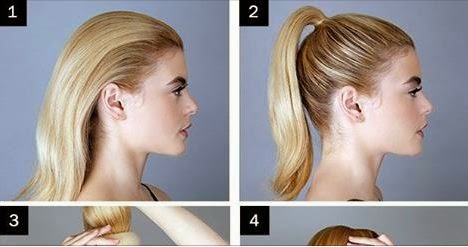Make A Sock Messy Bun On Straight Hair Step By Step Entertainment
