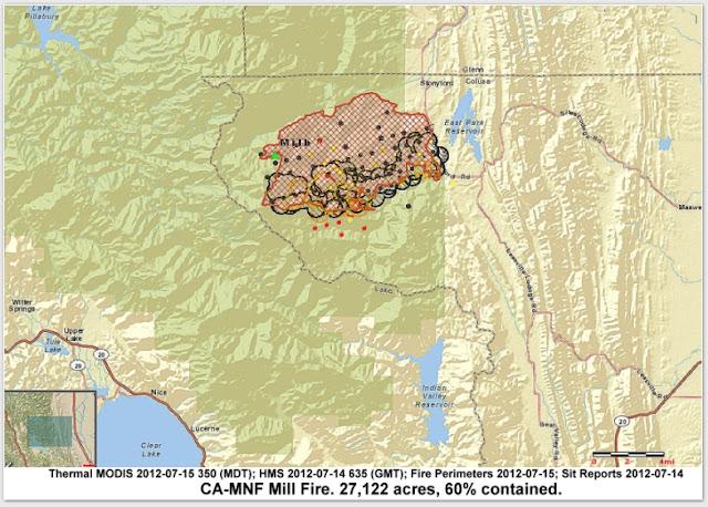Cfn California Fire News Cal Fire News Ca Mnf Mill