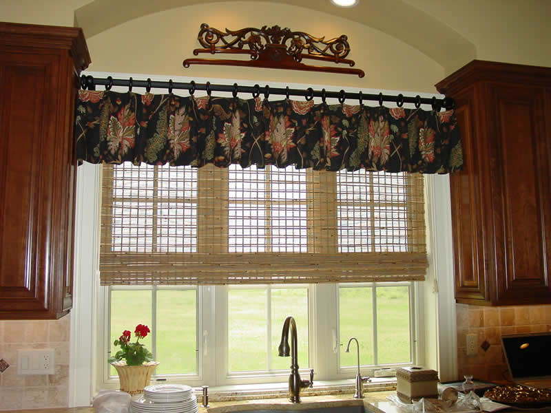 Idea Treatment Window Kitchen Curtains