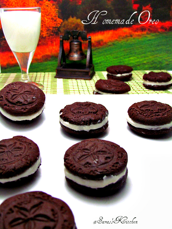 Saras's Kitchen: Oreo Cookies / Fauxreos~ Baking Partners #2