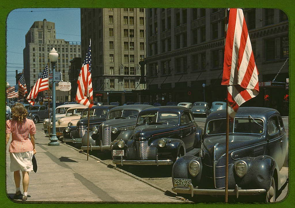 33 beautiful color photos of the u s in 1942 and 1943 vintage everyday. Black Bedroom Furniture Sets. Home Design Ideas