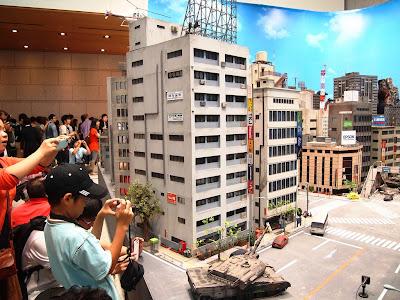 Cidade Maquete Power Rangers