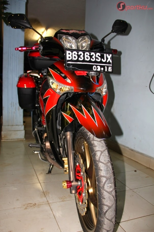 Gambar Modifikasi Honda Supra X 125