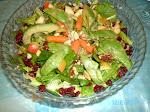 Salada de folhas especial