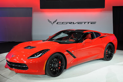 First C7 Corvette to be auctioned for charity