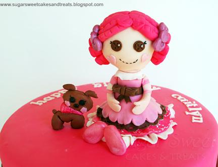 Lalaloopsy Birthday Cake Pops Lalaloopsy cake pop favors