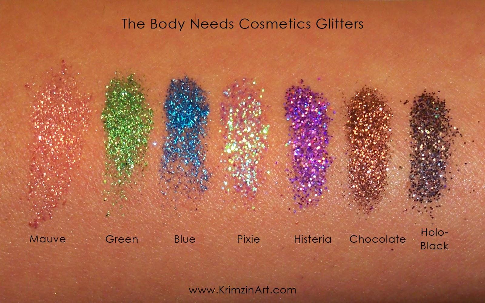 Блестки для макияжа crystallized glitter