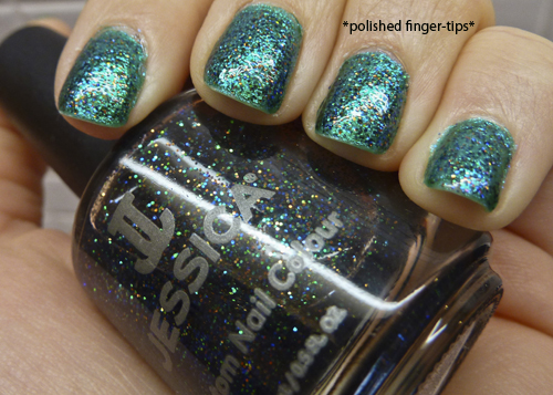 "Jessica ""Platinum Wishes"" and Color Club ""Metamorphosis"" - Artificial Light"