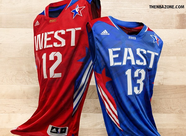 2013 NBA All Star Adidas Uniforms