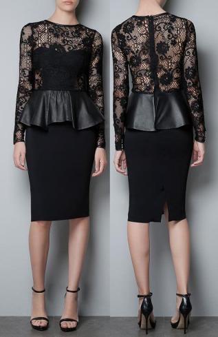 robes de promotion 2013 zara. Black Bedroom Furniture Sets. Home Design Ideas