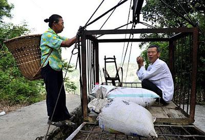 Hanya Di China, Namanya Jalan Kematian, ne fotonya gan