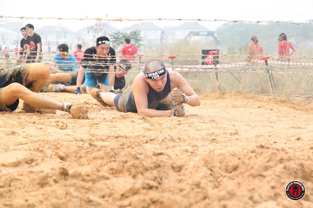 barbed wire spartan race malaysia sprint kl