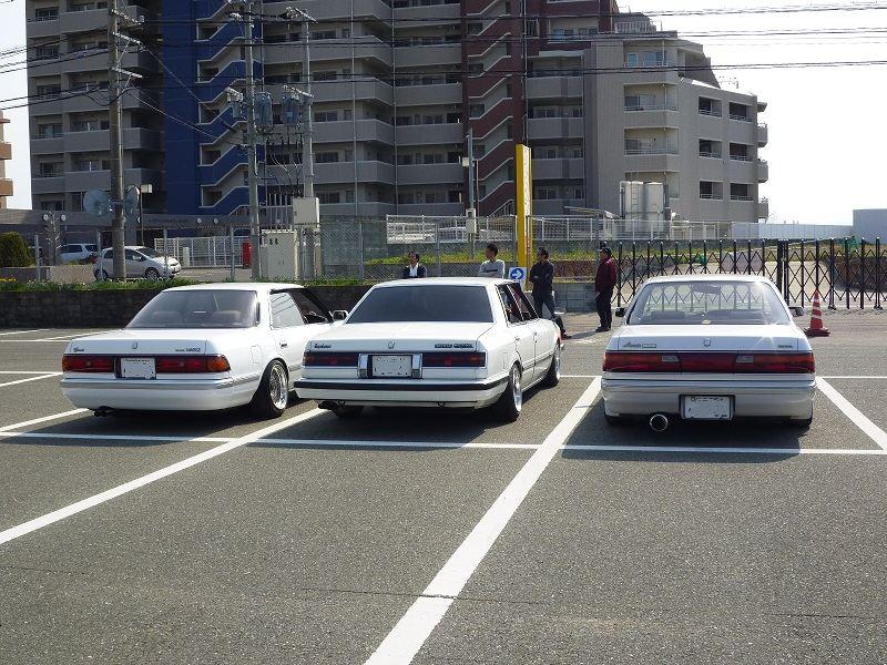 Toyota Mark II, Cresta, Chaser, japońskie driftowozy, ciekawe sedany