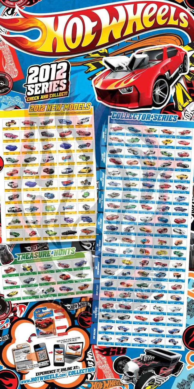 the 2012 hot wheels posters are out more cars to collects pic from hwcm thanks guys will do a more detail poster to show cheers for now - Hot Wheels Cars 2012
