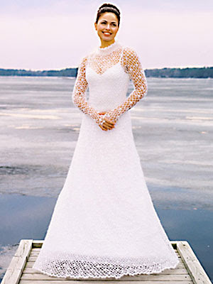 CROCHET BRIDAL GOWN PATTERN Crochet Patterns Only