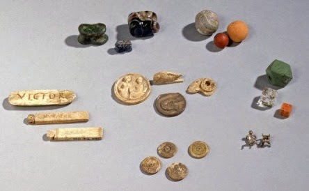 مجموعة من الألعاب المصرية القديمة