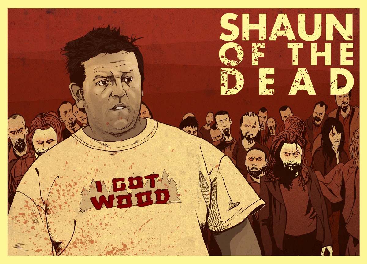 Nick Frost Film poster - Shaun of the Dead