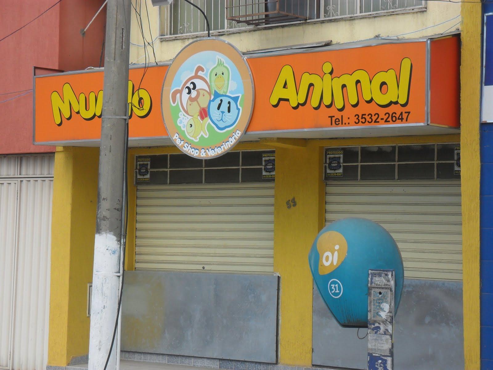 Well-known Monteze Design e Comunicação Visual: Mundo Animal - Pet Shop ZB78