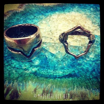 rings, silver rings, lost wax, lost wax casting, casting, sterling silver, handmade jewelry, chevron ring, cut out shape ring, diy rings, metal rings, jewelry