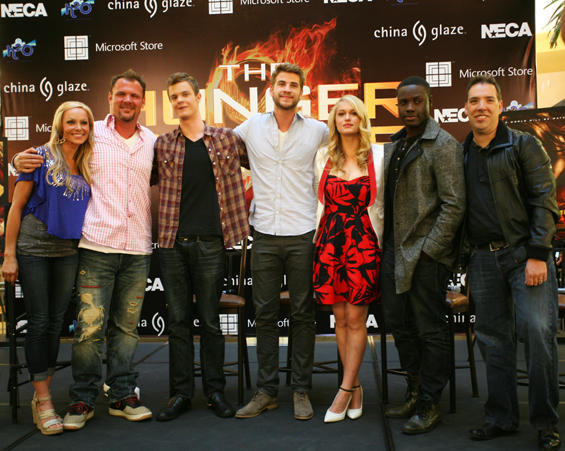 Le cast Hunger Games au Mall Tour   224  PheonixJack Quaid Hunger Games Character