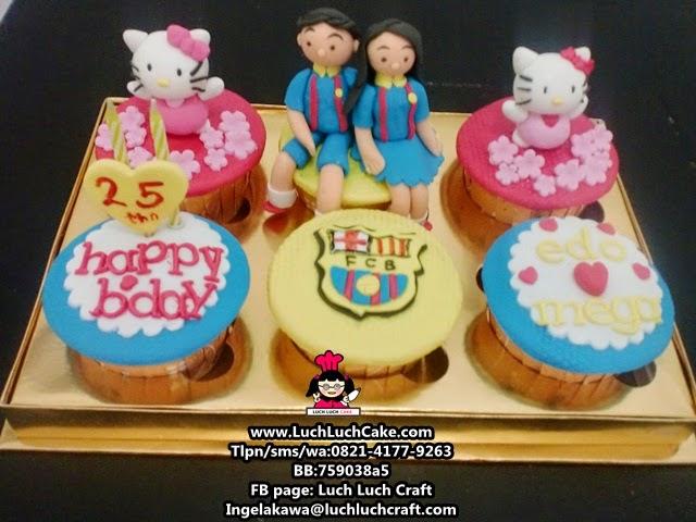 Cupcake Barcelona dan Hello Kitty Daerah Surabaya - Sidoarjo