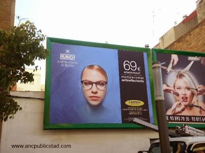 valla 4x3 de publicidad