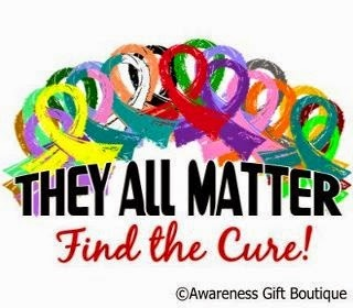 Proudly Supports Awareness And Finding Cures For All Diseases
