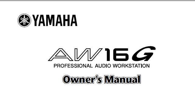 yamaha aw16g manual