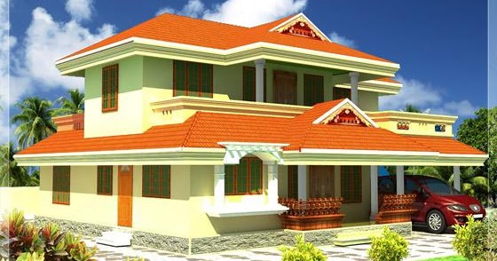 2400 kerala style house architecture kerala home for The space scape architects thrissur kerala