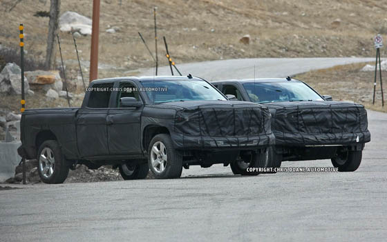 2014 GMC Sierra Spy Photos, it shows the tip of his nose ~ Garage Car