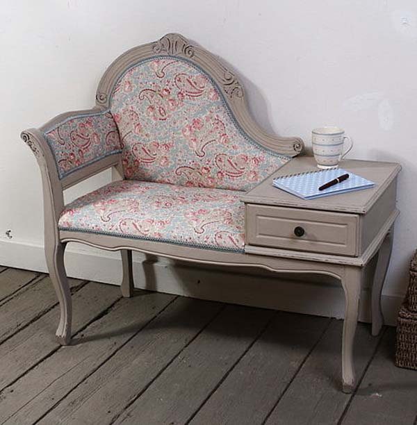 PJH Designs Hand Painted Antique Furniture Stamped