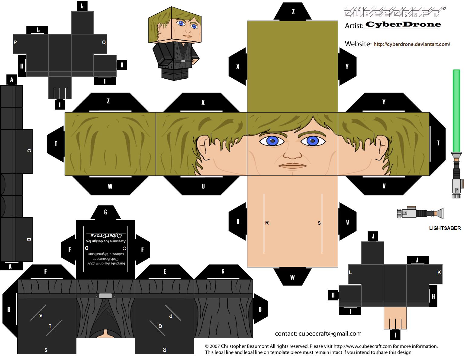 De cubeecraft y algo m s Cubeecraft Stars Wars