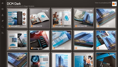 DCM Dark Template,DCM Dark Template 2014,black template,blog template,simple templates,gallary template.