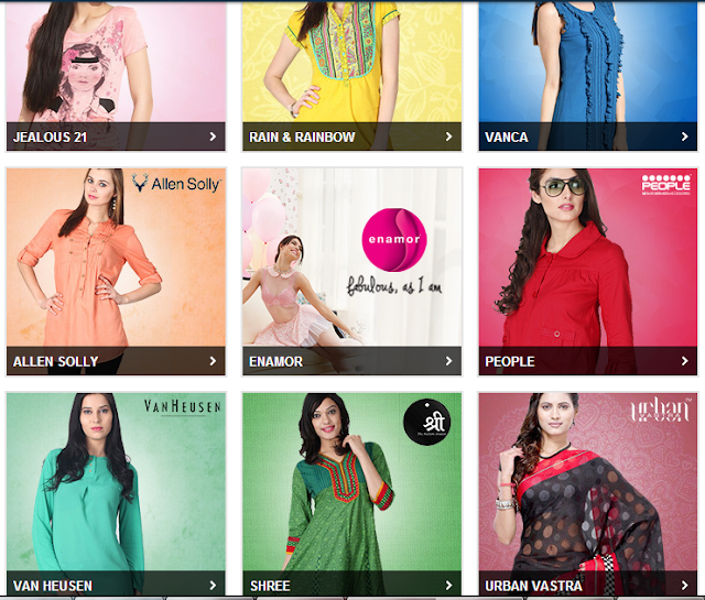 Online women's clothing outlets