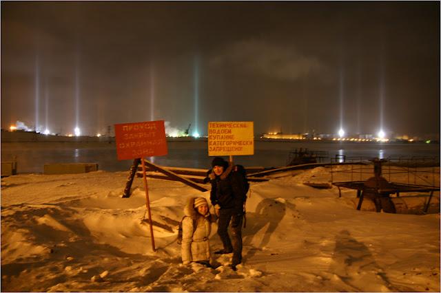 Таймырский полуостров, город Норильск, озеро Долгое.