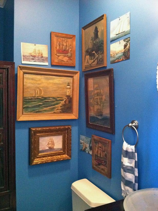 Small Nautical Bathroom Ideas